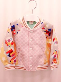 Sewing Piano Kids Designer Edition, baseball jumper. Chanel ~!
