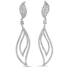 Diamond earrings by S.Kashi & Sons www.russellandballard.com