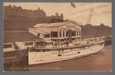 "Vintage Postcard The s s ""Indianapolis"" at Municipal Dock in Tacoma Washington | eBay"