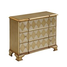 Christopher Knight Home Metallic Champagne Three-drawer Chest - Overstock™ Shopping - Great Deals on Christopher Knight Home Coffee, Sofa & End Tables