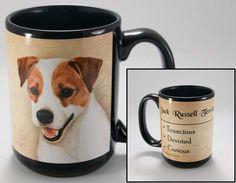 Faithful Friends Jack Russell Terrier Dog Breed Coffee Mug http://doggystylegifts.com/products/faithful-friends-jack-russell-terrier-dog-breed-coffee-mug