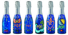 Pommery Pop Art Collection. Wanna pop one #packaging PD