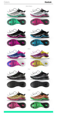 Reebok Backpacker // Footwear by Rolando Hernndez at Coroflot.com