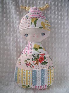 hankie dolls!!  What a cute idea!