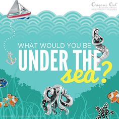 Under The Sea - Origami Owl® Social Media Graphic check out all the new charms in our summer collection premiering June 1st