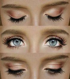 Cílios postiços para olhos caídos