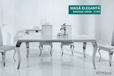 Design Baroque, Table Design, Dining Bench, Interior, Furniture, Home Decor, Ajouter, Products, Environment
