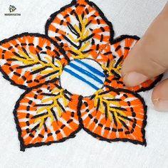 hand embroidery flower design Knitting For BeginnersKnitting HatCrochet ProjectsCrochet Ideas Hand Embroidery Flower Designs, Basic Embroidery Stitches, Hand Embroidery Videos, Embroidery Stitches Tutorial, Embroidery Flowers Pattern, Creative Embroidery, Learn Embroidery, Crewel Embroidery, Embroidery Patterns
