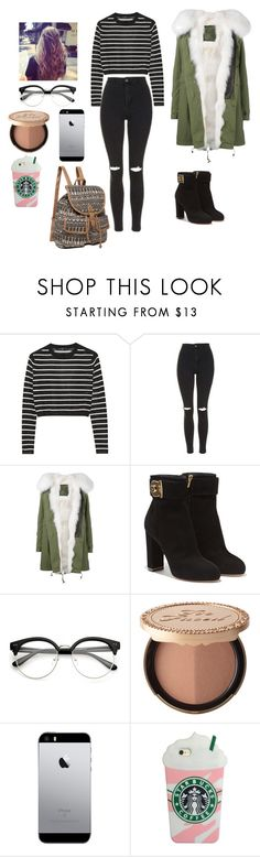 """""""GOOD WORK"""" by reka15 on Polyvore featuring TIBI, Topshop, Mr & Mrs Italy, Salvatore Ferragamo, Too Faced Cosmetics and True Craft"""