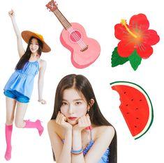 red velvet summer magic Seulgi, Kpop Girl Groups, Korean Girl Groups, Kpop Girls, Irene Red Velvet, Red Velvet Photoshoot, Mickey Mouse Wallpaper, Kim Yerim, South Korean Girls