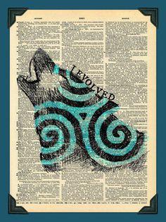 I Evolved Derek Hale Teen Wolf Dictionary Fan Art by Digiarttree