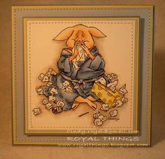 Swine flu? by csroyal - Cards and Paper Crafts at Splitcoaststampers