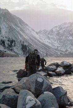 Adventuring. #hike #ocean #mountains #adventure