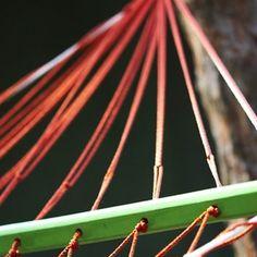 Make a homemade hammock.