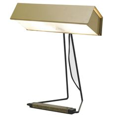Desk Lamp By Stilnovo ca. 1950 | From a unique collection of antique and modern table lamps at http://www.1stdibs.com/furniture/lighting/table-lamps/