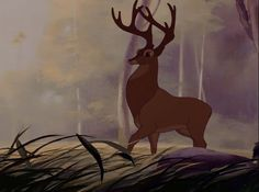 The Great Prince of the Forest Bambi Film, Bambi 1942, Film Base, Disney Films, Princesas Disney, Artsy Fartsy, Giraffe, Moose Art, Entertaining