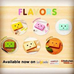 แบตสำรอง รุ่น FLAVORS ตอนนี้มีจำหน่ายใน Online Shop แล้ว  #powerbank #แบตสำรอง #cheerothailand #danboard #danbo #Flavors #lazada #weloveshopping #tarad