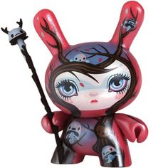 """Nature Spirit Dunny"" designer toy by 64 Colors"