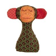 Myang Monkey Rattle – Green / Orange African Inspired Clothing, Green And Orange, Baby Accessories, Monkey, Adventure, Inspiration, Shoes, Biblical Inspiration, Jumpsuit