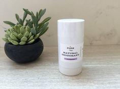 Natural Deodorant / LAVENDER / all natural / no aluminum / chemical free / detox / organic /