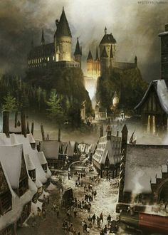Hogwarts at christmas. hogwarts at christmas harry potter fondo Décoration Harry Potter, Images Harry Potter, Harry Potter Universal, Disney Star Wars, Yer A Wizard Harry, Albus Dumbledore, Drarry, Dramione, Fantastic Beasts