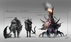 Characters Concept (2015) by BAND HUANG on #DrawCrowd