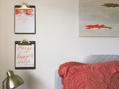 DIY Clipboard Picture Frame   All Purpose Flour Child