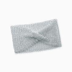 Elsa Peretti® Mesh wide bracelet in sterling silver, small.