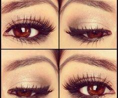 10 Natural Makeup Look Ideas This eye make-up.is gorgeous !This eye make-up.is gorgeous ! Simple Eye Makeup, Natural Makeup Looks, Pretty Makeup, Love Makeup, Perfect Makeup, Gorgeous Makeup, Amazing Makeup, Natural Beauty, Simple Eyeliner