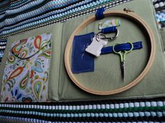 embroidery travel kit - nice internal design, like the use of a clip especially