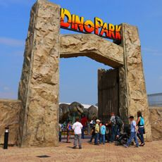 DinoPark Harfa Praha Kids Attractions, Swing And Slide, Our Planet Earth, Jungle Gym, Photo Corners, Family Days Out, Forest Park, Natural Scenery, Tyrannosaurus
