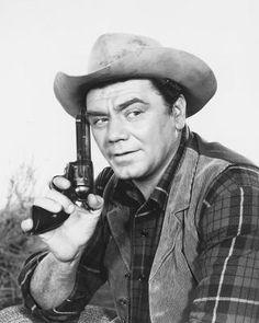 THE BADLANDERS (1958) - Ernest Borgnine - Remake of 'The Asphalt Jungle' - MGM - Publicity Still.