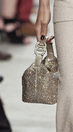 Diamond Studded Chanel Purse 2014