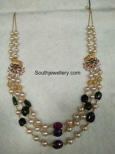 South Sea Pearls and Beads Mala photo