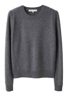 Wool & Cashmere smocked knit sweater from Vanessa Bruno