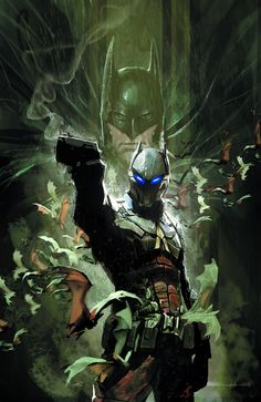 Arkham Knight's origin story to be told not in BATMAN: ARKHAM KNIGHT video game but in comic tie-in coming in July.