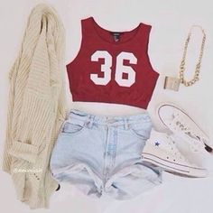 Cute Sporty Outfit