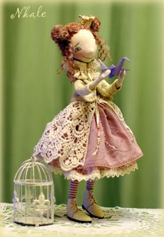"""NKALE :-) В каждой игрушке сердце: Журавлик (""""Куколка""""))))"""