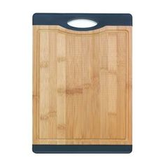 Picture of Bamboo Cutting Board With Black Grip