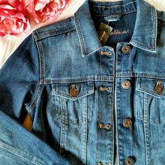 Eddie Bauer Denim Jacket Brand new with tags.  Size XS Eddie Bauer Jackets & Coats