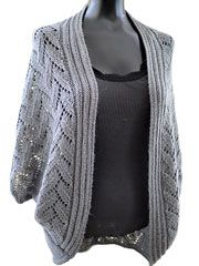 Calida Luxe Cocoon Cardigan Knit Pattern Download from AnniesCatalog.com. Order here: https://www.anniescatalog.com/detail.html?prod_id=105627