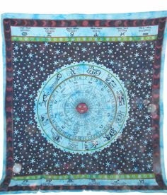 Astrology #Horoscope Zodiac, Hippie Hippy Curtain Wall Hanging, Indian #Tapestry  Free International Shipping  Type:Wall Hanging / Tapestry / Bedcover  Shop Now: http://ebay.to/11SEZNt