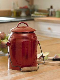 composting is good for gardening and for the planet this cute compost pail is great for checking off entries on your christmas gift list