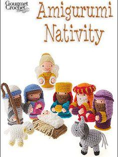 Amigurumis de navidad. Amigurumi Nativity