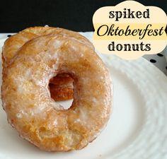 Spiked Oktoberfest Donuts Recipe
