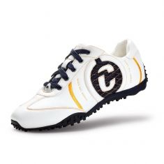 Duca del Cosma Kuba golf trainers for men. Fantastically stylish footwear for the golf course or street wear. €149 / approx. £124 from Great Golf Company. Free delivery to anywhere in Spain, low cost to Europe.