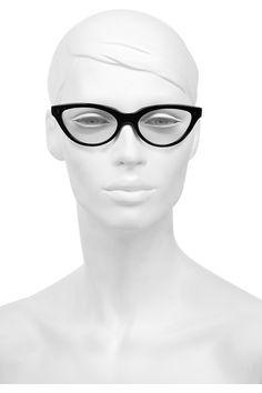 Cutler and Gross Cat eye acetate optical glasses NET-A-PORTER.COM