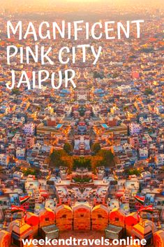 Pink City in Jaipur was built in the year 1727 by Maharaja Jai Singh II. It refers to the old walled city. The wall that marks the boundary of the Pink City is about six metres high and three metres thick and encompasses a number of structures within its confines.  #jaipur #pinkcity #placestovisitneardelhi #touristplacesneardelhi #weekendtripneardelhi #travel #touristplacesnearjaipur #rajasthan #india #weekendtravels Rajasthan India, Jaipur, 2 Days Trip, Golden Triangle, Walled City, Number, Pink, Travel, Goa India