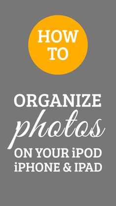 Used this to add folders in my iPhone to organize photos.  How to organize the photos on your iPhone, iPod and iPod