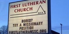 We will not forget the lost art of Church Signs. Glorious sayings, invitations and gaffes, which are meant to attract those who are driving by. For many years they have been a staple of American Christianity. And here is our list of the 10 Best and Most Hilarious Church Signs: 1. Jesus asked for a donkey. Some translations …